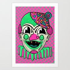 GETTIN' AWAY WITH MURDER. Art Print