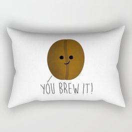 You Brew It Rectangular Pillow