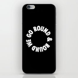 Round & Round iPhone Skin