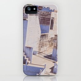 Blue City iPhone Case