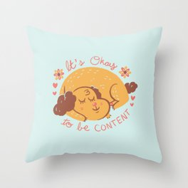Dog Wisdom Throw Pillow