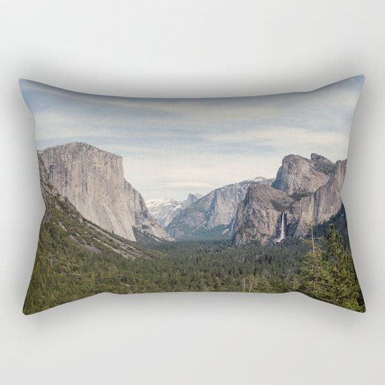Yosemite Valley Rectangular Pillow