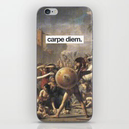 Carpe Diem iPhone Skin