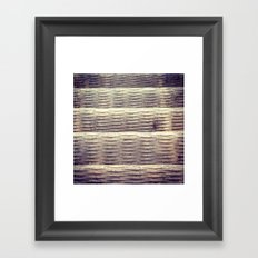 Steel Stair Framed Art Print