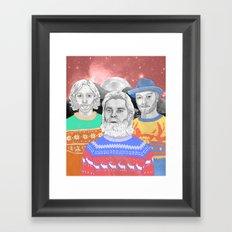 Biffy Clyro Framed Art Print