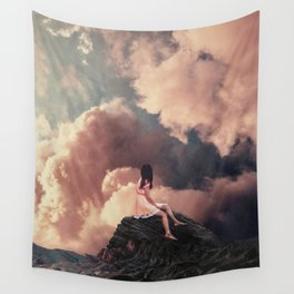 You came from the Clouds Wall Tapestry