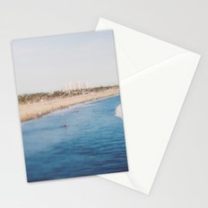 Beach Day at Santa Monica Stationery Cards