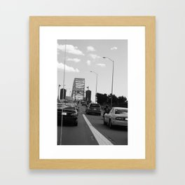 we'll get to that bridge when we cross it Framed Art Print
