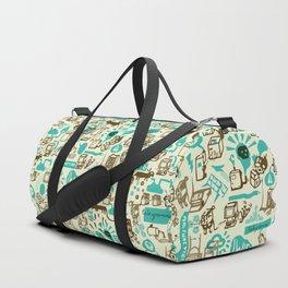 Cardboard Duffle Bag