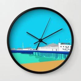 Brighton Pier Wall Clock