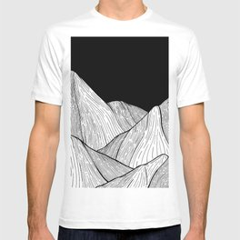 As The Mountains Rise Up T-shirt