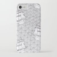 ships iPhone & iPod Cases featuring Ships by hellotomato