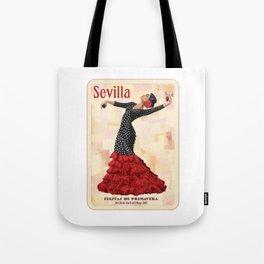 Seville April Fair Tote Bag