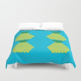 Puzzled Pineapple Duvet Cover