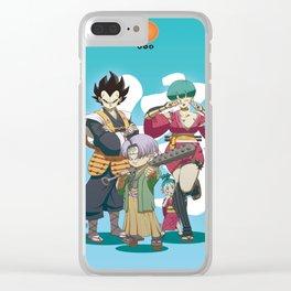 Dragon Ball Bushido : Vegeta's family Clear iPhone Case