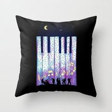Harmony In The Night Throw Pillow
