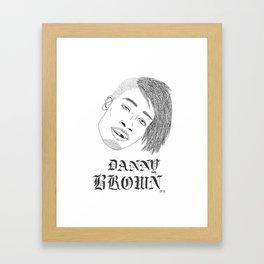Danny Framed Art Print