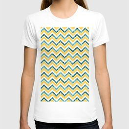 Chevron Glitter Glam #6 #shiny #decor #art #society6 T-shirt