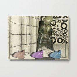 Artist Trading Card - 3D Mosh Pit Metal Print