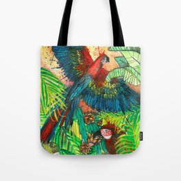 VIDA Statement Bag - Cayman Brac Parrots by VIDA
