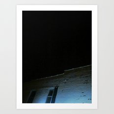 A Night Sky Art Print