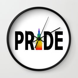 Cleveland LGBTQ Pride Terminal Tower Wall Clock