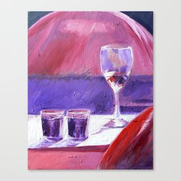 A Series of Wedding Dancer Still-Life Paintings 1. Canvas Print