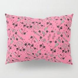 Pink Weapons Pillow Sham