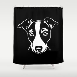 JACK  RUSSELL TERRIER Shower Curtain