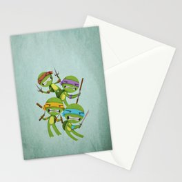 Heroes in a Half Shell Stationery Cards
