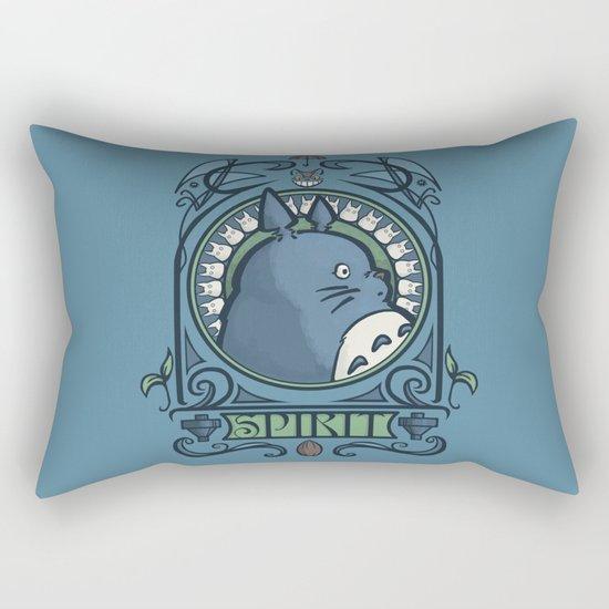 Forest Spirit Nouveau Rectangular Pillow