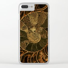 Earth treasures Clear iPhone Case