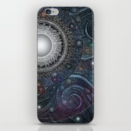 Feather Moon iPhone Skin