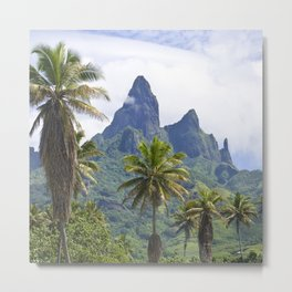 The Land Time Forgot: Marquesas Islands Metal Print