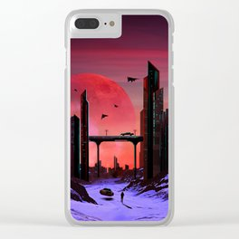 A world Clear iPhone Case