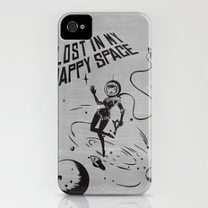 Lost In My Happy Space, grey iPhone (4, 4s) Slim Case