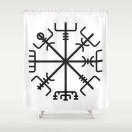 Vegvisir Shower Curtain
