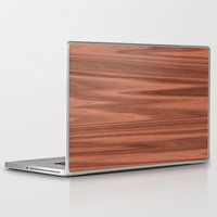 wooden Laptop & iPad Skins featuring Wooden Structure  by MehrFarbeimLeben