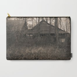 Engulfed House with Vines (Untitled Sepia 3) Carry-All Pouch