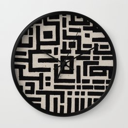 Trip Hop In The City Wall Clock
