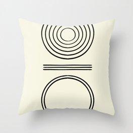 Life Balace II Throw Pillow