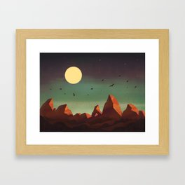 Pinnacles National Park Framed Art Print