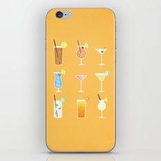 Mixed Drinks iPhone & iPod Skin