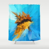 butterfly Shower Curtains featuring Butterfly by Paul Kimble