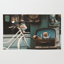 Vintage photo Rug