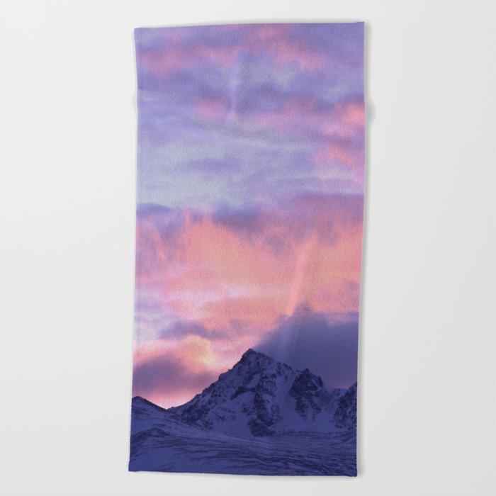Rose Serenity Sunrise III Beach Towel