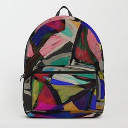 Collage of Color Backpack
