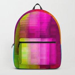 Vertical Rainbow Color Palette Backpack