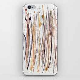 Purple and Gold Rain Forest #3 iPhone Skin