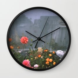 self reflection Wall Clock